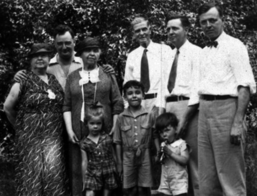 1935: The Parishes & Bowes in Palos Park