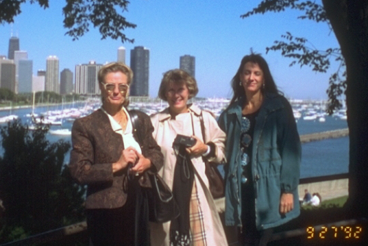 Betsy Riboud Lacombe, Livie Riboud and Margaret Casey